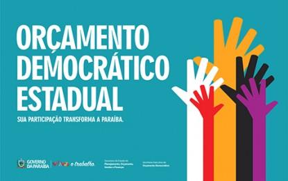 Orçamento Democrático realiza audiências em Mamanguape e Guarabira