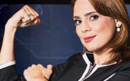 """Rachel Sheherazade tem dia de fúria no SBT após levar bronca: """"Então vocês vão censurar a minha expressão facial também ?"""