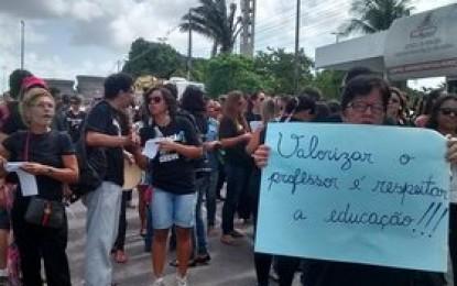 """ADUFPB critica """"postura autoritária"""" da PMJP contra professores em greve"""