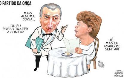TEMER NO GOVERNO: Ministro ou Garçom ?