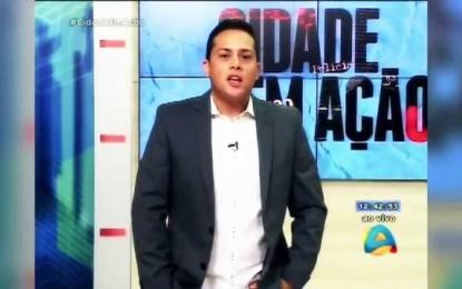 """COMUNICADOR VICTOR FREITAS DO """"CIDADE EM AÇÃO"""" É DEMITIDO DA TV ARAPUAN"""