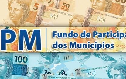 Prefeituras paraibanas receberão aumento de 20% do FPM