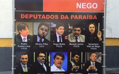Movimentos sociais dizem que deputados paraibanos 'traíram' a confiança do povo quando aprovaram terceirização