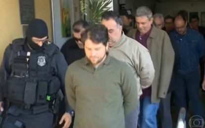 Presos da 11ª fase da Lava-Jato fazem exame de corpo de delito em Curitiba