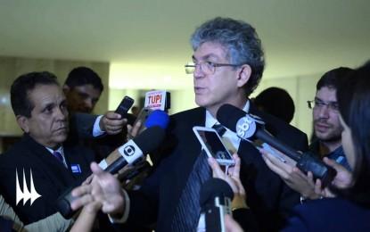 PAUTA NORDESTE: Ricardo Coutinho convoca todos os senadores e deputados federais do Nordeste para reunião em Brasília