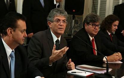 """Governador Ricardo Coutinho bate duro na proposta tucana: """"Não podemos apoiar golpes"""""""