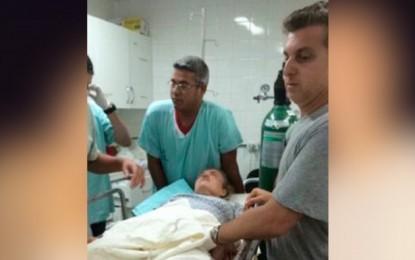 ACIDENTE DE AVIÃO: Foto de Angélica machucada em hospital vaza na internet