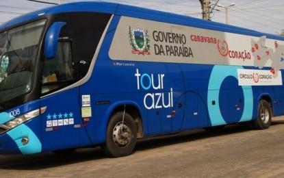 'Caravana do Coração' 2017 passa por 13 cidades da Paraíba