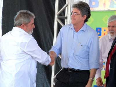 Lula revela sonho de entregar Transposição ao lado de Ricardo: 'ele é motivo de orgulho à Paraíba'