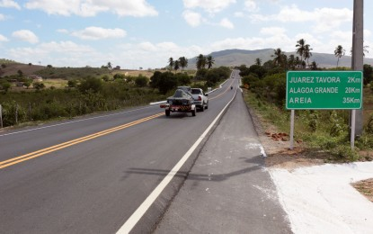 Ricardo entrega rodovias e beneficia mais de 100 mil habitantes do Agreste Paraibano