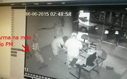 VEJA VÍDEO– Vídeo mostra policial sacando arma antes de ser morto em Patos