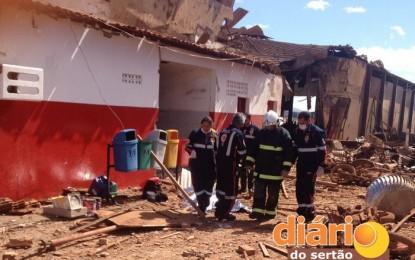 Duas pessoas morrem em explosão de caldeira em Sousa