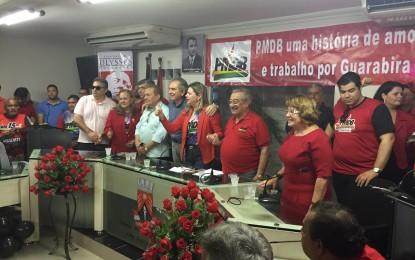 Em Convenção PMDB de Guarabira anuncia João Rafael como pré-candidato a prefeito