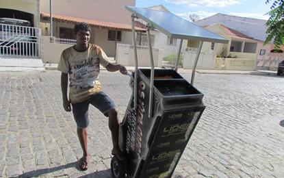 SOL QUENTE: Pombal tem o 1º carrinho volante alimentado por energia solar
