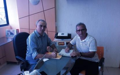 PPS filia vice-prefeito de Sousa para concorrer às eleições do próximo ano