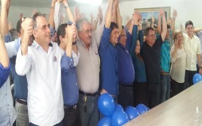 Lucélio Cartaxo anuncia apoio à reeleição do prefeito Romero