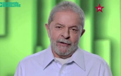 VÍDEO- Montagem satírica de Lula viraliza na internet