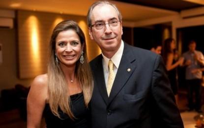 Esposa de Cunha torrou milhões por meio de cartões de crédito das contas secretas