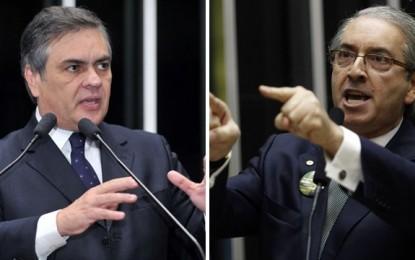 45 MILHÕES DO BTG: Eduardo Cunha nega e diz que o relator da MP foi o senador Cássio Cunha Lima
