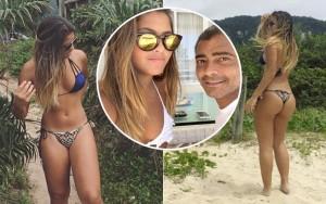 Filha de Romário completa 18 e revela que o pai é ciumento com as fotos do Instagram