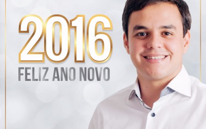 """Mensagem de Ano Novo de Matheus Bezerra a todos os bananeirenses: """"Novas conquistas juntos para uma Bananeiras Melhor """""""