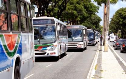 Após reajuste de 4,87% para motoristas, Semob define nova tarifa de ônibus de João Pessoa na sexta-feira