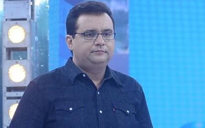 """Geraldo Luis se abala com possível fim do """"Domingo Show"""""""
