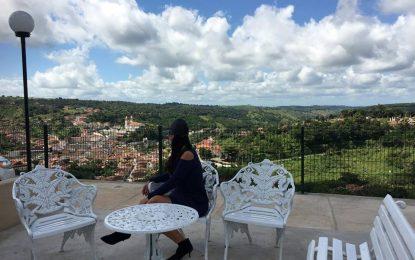 VEJA FOTOS – VISUAL PERFEITO: Mirante do Hotel 'Pousada da Serra' é o novo ponto turístico de Bananeiras
