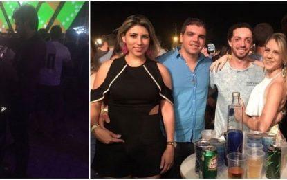 Candidato a vice em Campina Grande que é ex de Pâmela Bório é flagrado dando 'virote' em JP