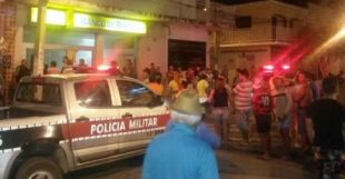 VEJA VÍDEO – TERROR EM COREMAS: Bandidos explodem banco, fazem reféns e fogem aterrorizando a cidade