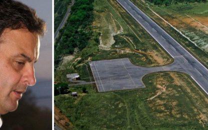Áudio revela que aeroporto de Cláudio era mesmo de Aécio