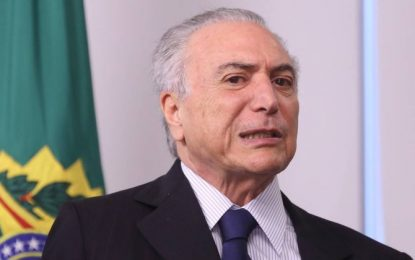 MEME BOMBANDO: O presidente Michel Temer diz que renunciará – VEJA VÍDEO