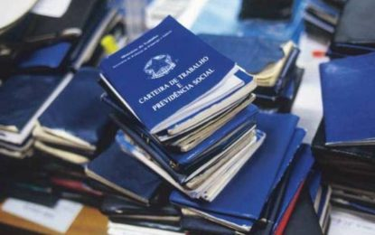 Sine-PB disponibiliza 195 vagas de emprego em cinco cidades paraibanas