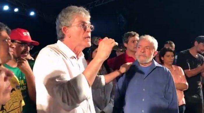 Ricardo Coutinho: 'O povo apoia Lula porque a ficha caiu