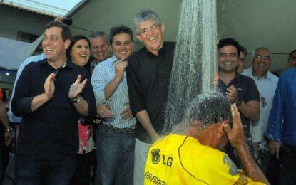 """ÁGUA 24 HORAS EM CAMPINA: Ricardo celebra a normalização no twitter """"Para alegria de muitos e desespero das hienas da política"""""""