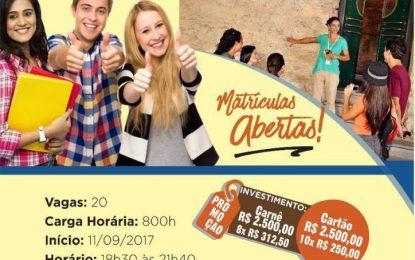 Senac Paraíba abre inscrições para curso Técnico em Guia de Turismo na capital