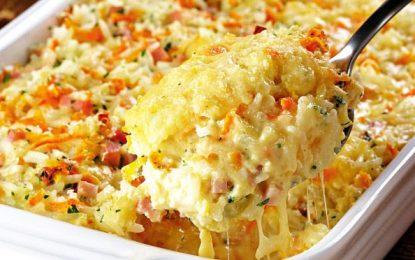 Receita de arroz de forno cremoso, Todo mundo vai se apaixonar por essa delícia