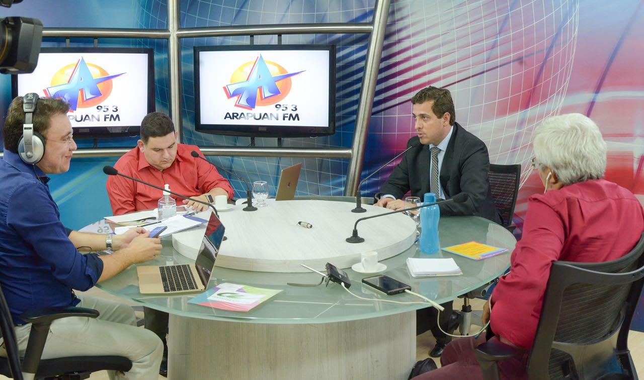 Gervásio destaca próximas etapas do projeto de modernização da Assembleia