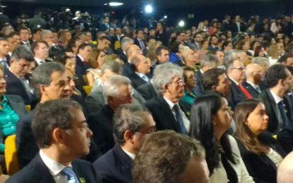 Governador Ricardo Coutinho prestigia posse de Raquel Dodge