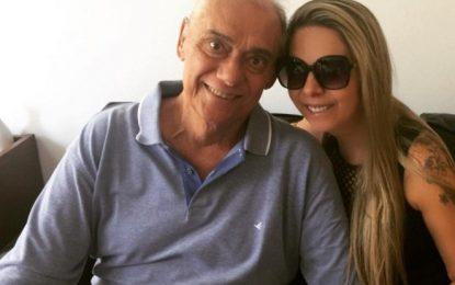 Esposa de Marcelo Rezende posta mensagem após internação do apresentador