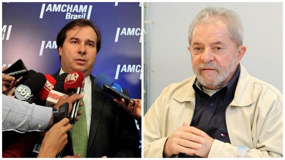 Maia diz querer disputar presidência com Lula para 'acabar com o mito'