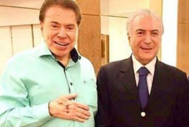 Silvio Santos faz promessa para Temer em ofensiva para Previdência e presidente gosta do que ouve