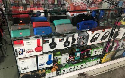 Operação da Polícia Civil apreende mercadorias falsificadas em shoppings de JP