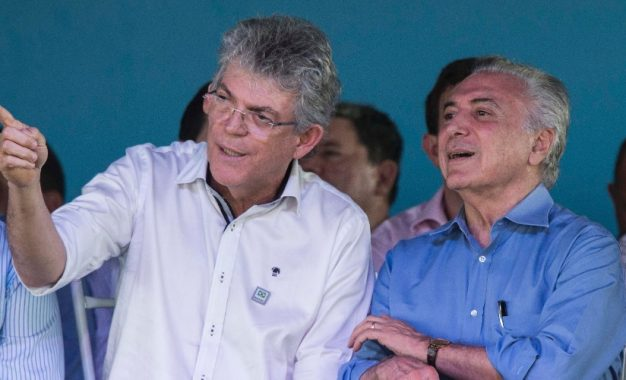 DECIDIDO: Temer decidiu criar o ministério para segurança pública, uma sugestão de Ricardo Coutinho