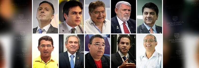 ENQUETE: o Polêmica Paraíba quer saber em quem você votaria para o Senado se a eleição fosse hoje?