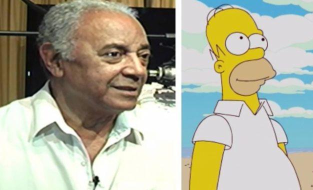 Morre Waldyr Sant'anna, primeiro dublador de Homer Simpson no Brasil
