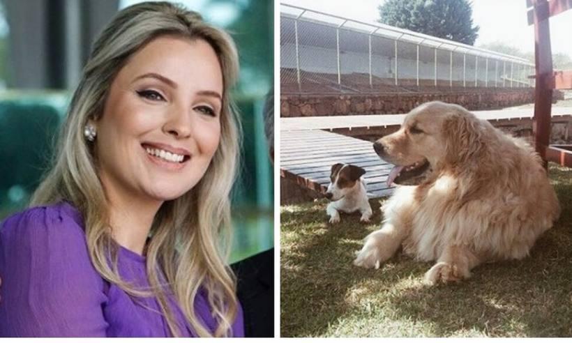 Marcela Temer pula em lago para salvar cachorro e segurança é afastada por incompetência