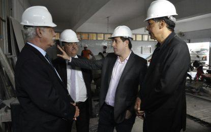 O presidente ALPB, deputado Gervásio Maia, recebeu a visita do presidente da Unale