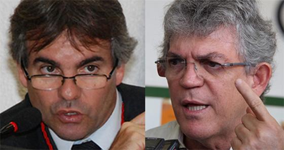 É HOJE: Ricardo Coutinho e Joás de Brito ficam frente a frente em audiência no STF