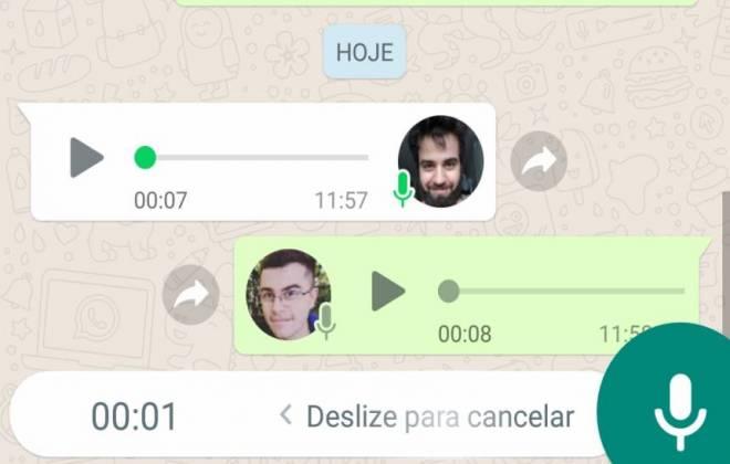 Como ouvir áudios do WhatsApp sem a outra pessoa saber